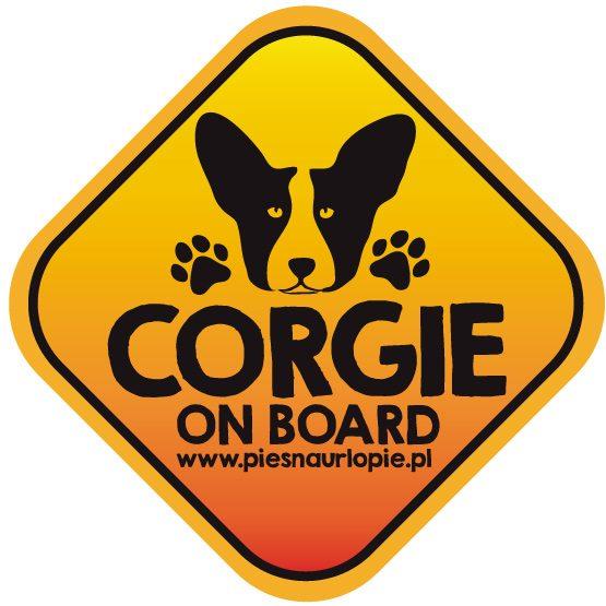 Naklejka na samochód z psem rasowym (corgi) idealna dla właściciela, który lubi podróżować z psem i dba o jego bezpieczeństwo. Na prezent dla miłośnika zwierząt czy jako gadżet dla wielbiciela psów.