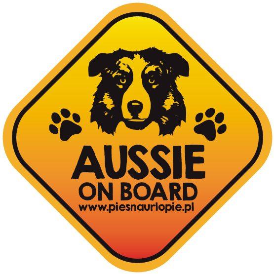 Naklejka na samochód z psem rasowym (owczarek australijski aussie) idealna dla właściciela; który lubi podróżować z psem i dba o jego bezpieczeństwo. Na prezent dla miłośnika zwierząt czy jako gadżet dla wielbiciela psów.