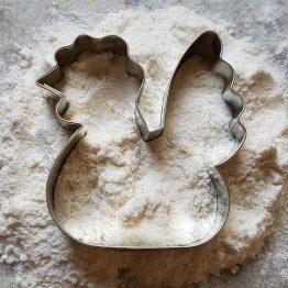 Foremka do ciastek w kształcie kury idealna dla miłośnika zwierząt i gospodarstwa domowego.